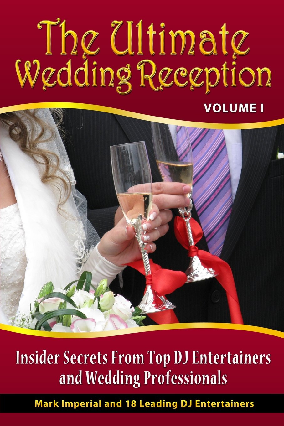 the ultimate wedding reception front cover
